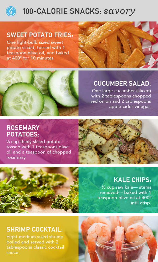 Savory Snacks Under 100 Calories