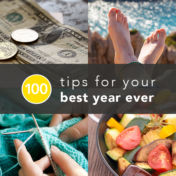 100 Tips for Your Best Year