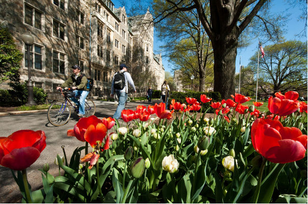 The 25 Healthiest Colleges 2013: Georgetown University