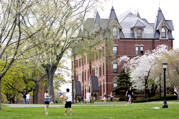 The 25 Healthiest Colleges 2013: Tufts University