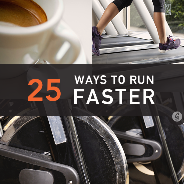 25 Ways to Run Faster