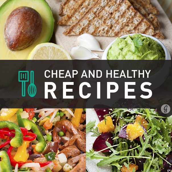 Healthy Recipes: 400+ That Won't Break The Bank