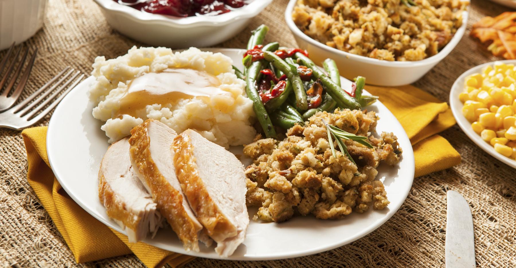 Thanksgiving Dinner: 5 Easy Ways to SaveCalories foto