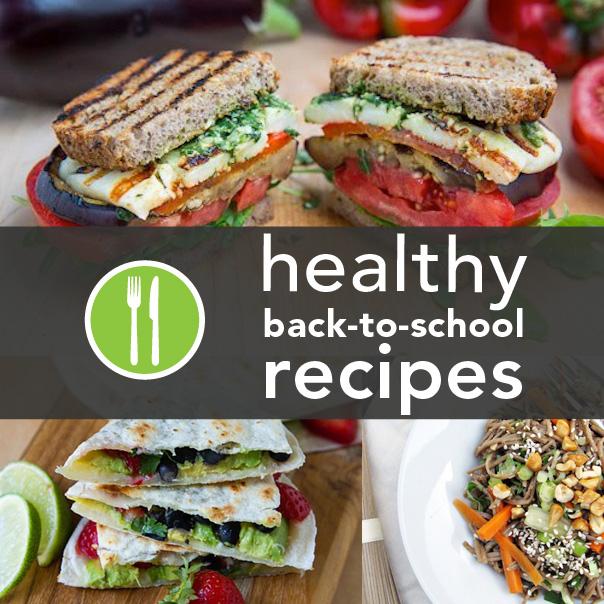 10 Healthy Back-to-School Recipes