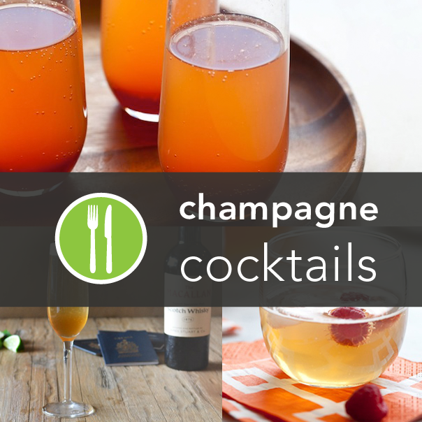 5 Healthy Champagne Cocktails