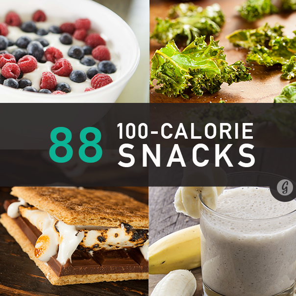 88 Snacks Under 100 Calories