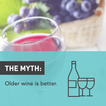 Myths About Alcohol: Older Wine Is Better