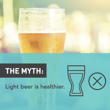 Myths About Alcohol: Light Beer is Healthier than Dark Beer