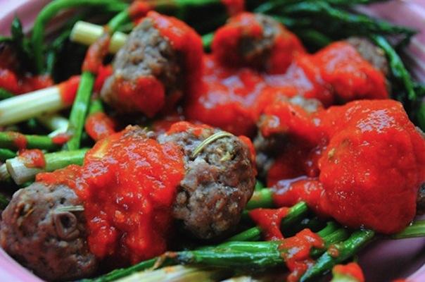 Asparagus Meatballs