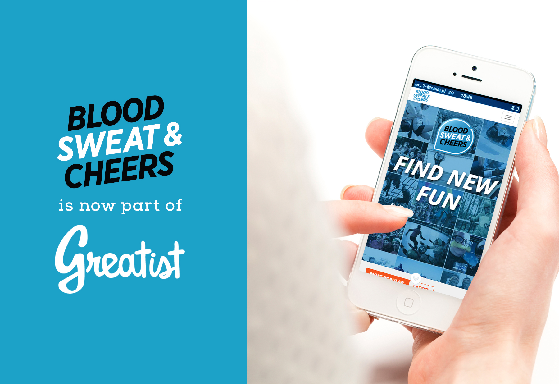 Greatist Acquires Healthy Lifestyle Brand Blood, Sweat Cheers