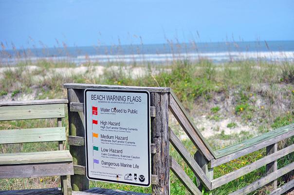 Beach Safety Flags