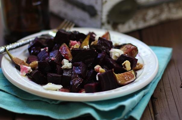 Beet Fig Salad
