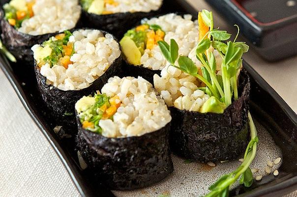 Brown Rice Sushi