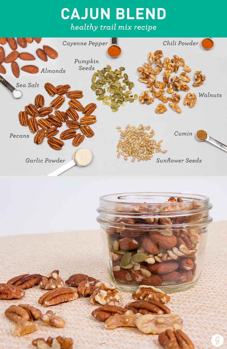 Trail mix 21 healthy tasty trail mix recipes to make yourself pbj peanuts dried strawberries peanut butter chips shredded wheat cereal ccuart Choice Image