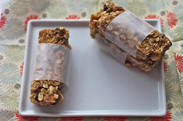 Chewy Coconut Almond Granola Bars