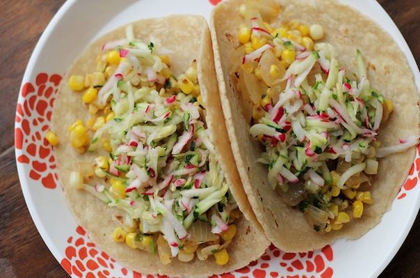 Chipotle Barley Salad With Corn, Zucchini, And Radishes Recipes ...