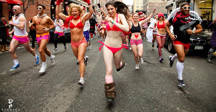 Themed Races: Cupid's Undie Run