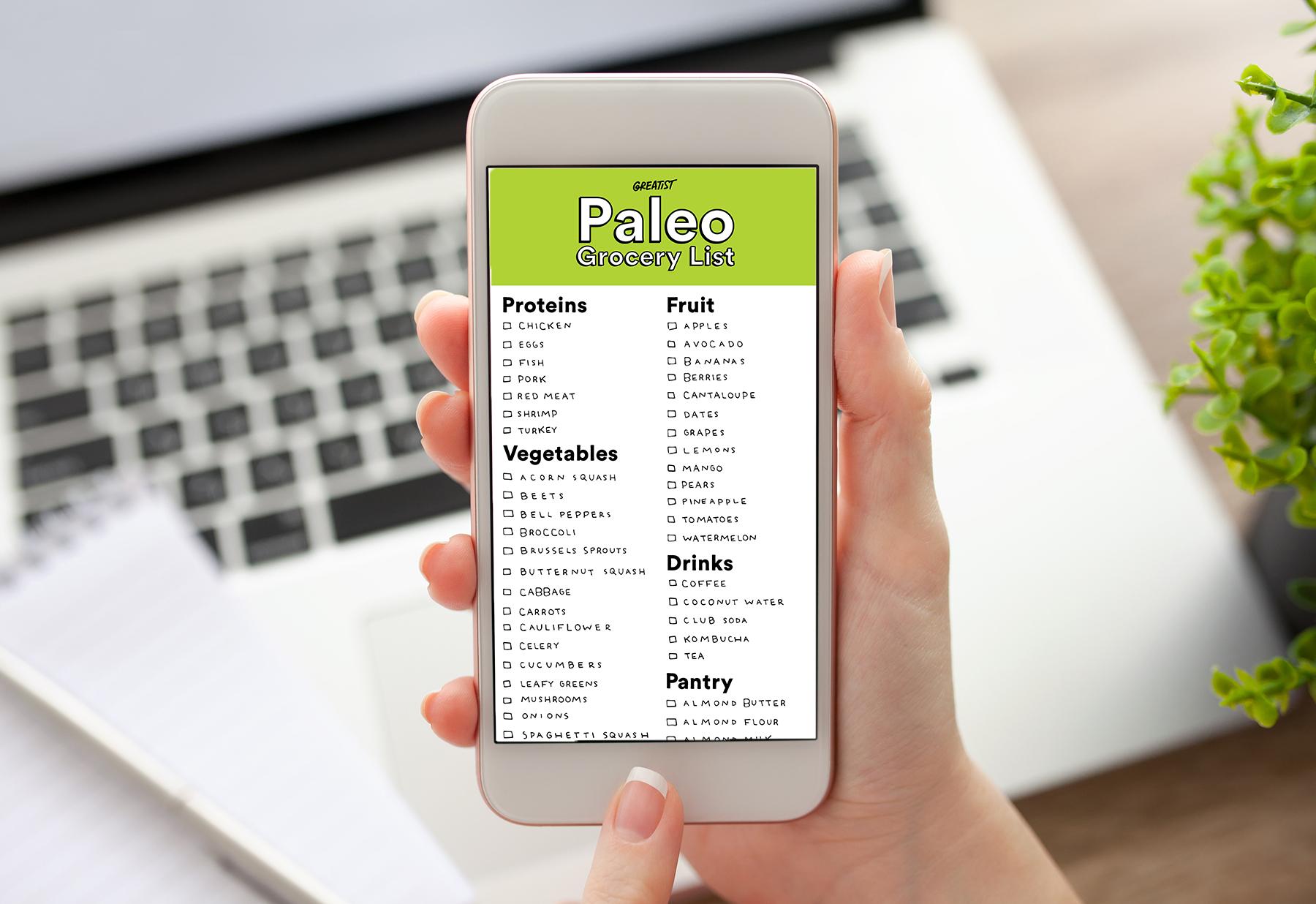 Paleo Shopping List for Beginners