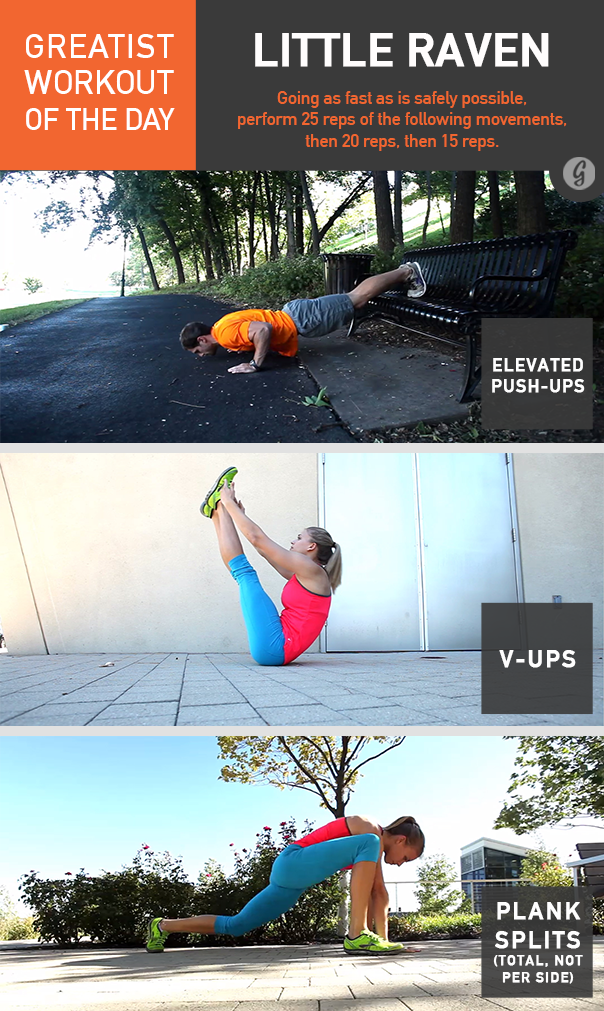 Greatist Workout of the Day: Little Raven
