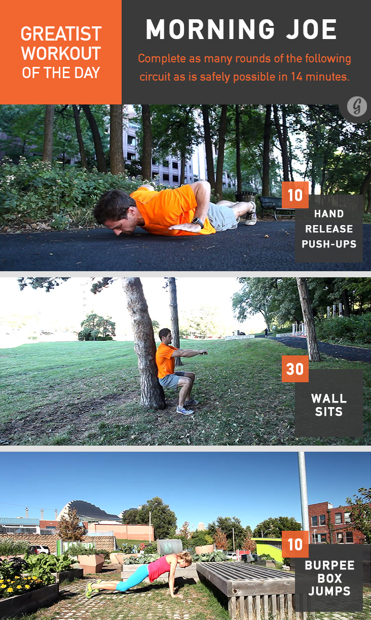 Greatist Workout of the Day: Morning Joe
