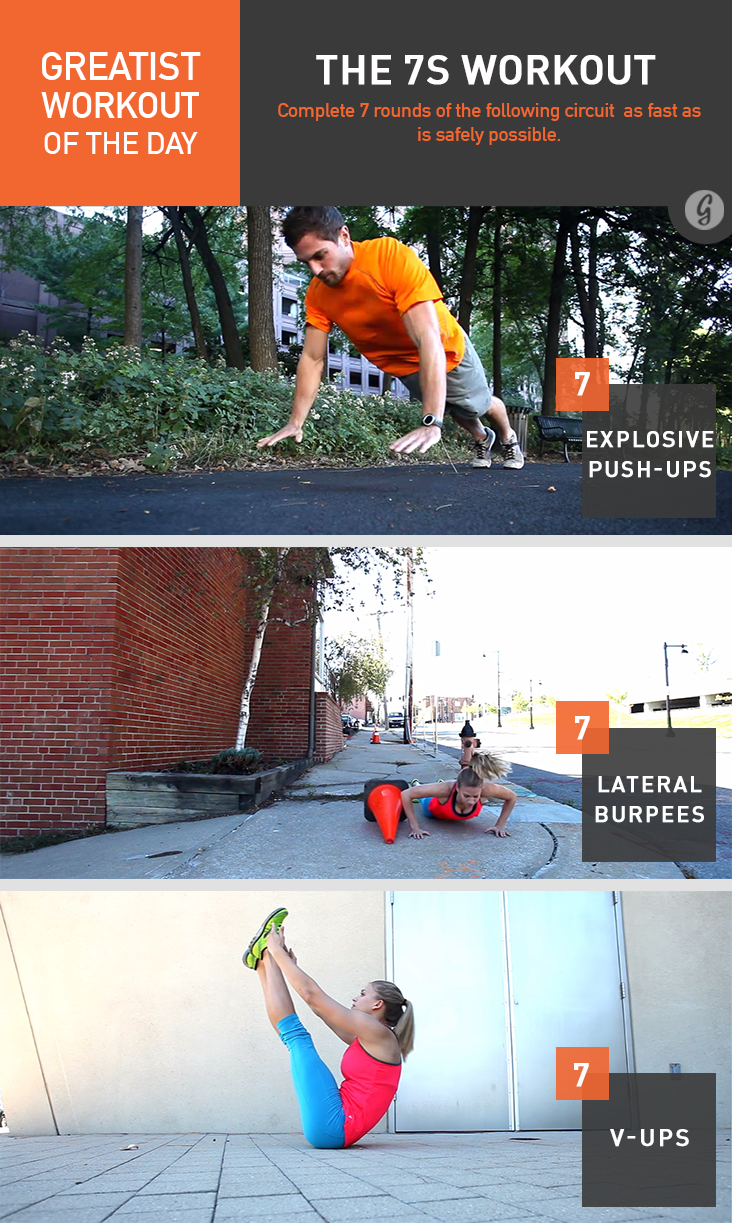 Greatist Workout of the Day: The 7s Workout