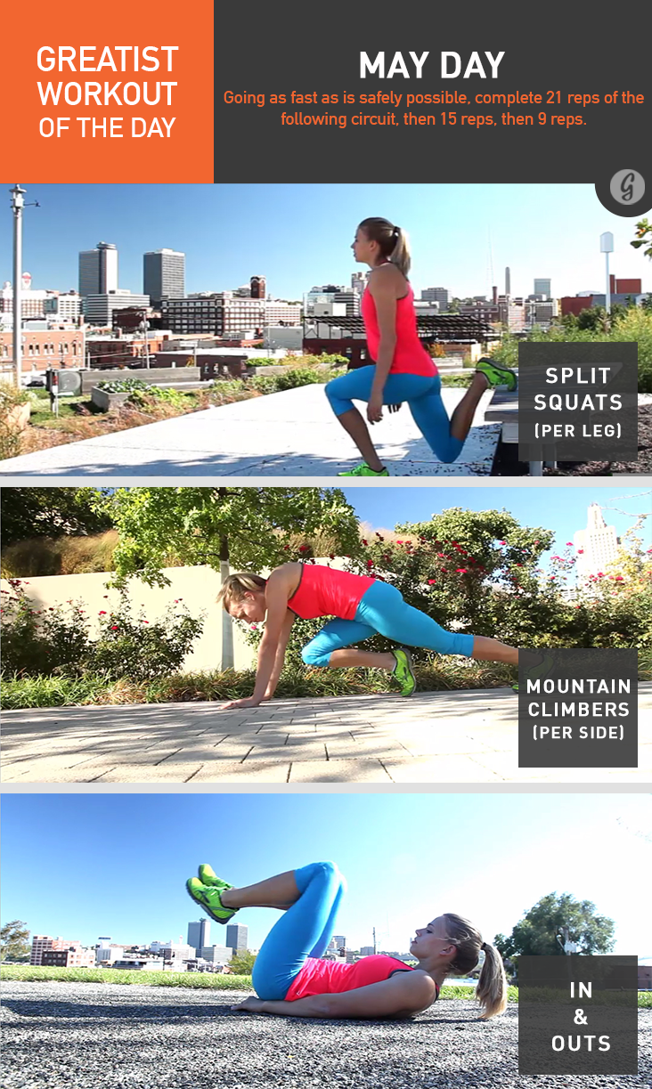 Greatist Workout of the Day: May Day