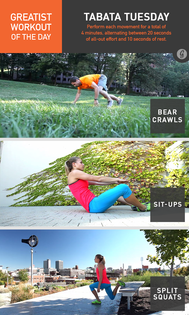 Greatist Workout of the Day: Monday, June 23rd Greatist Workout of the Day: Monday, June 23rd new photo
