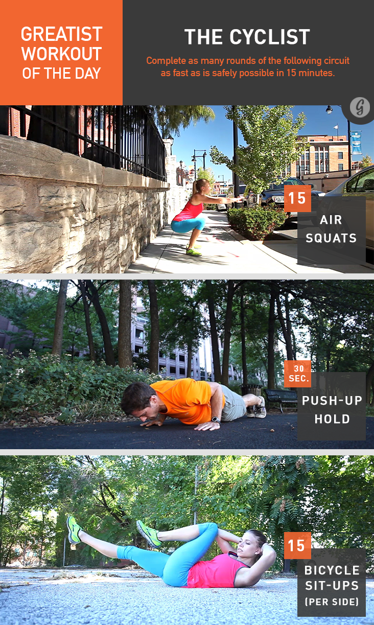 Greatist Workout of the Day: The Cyclist