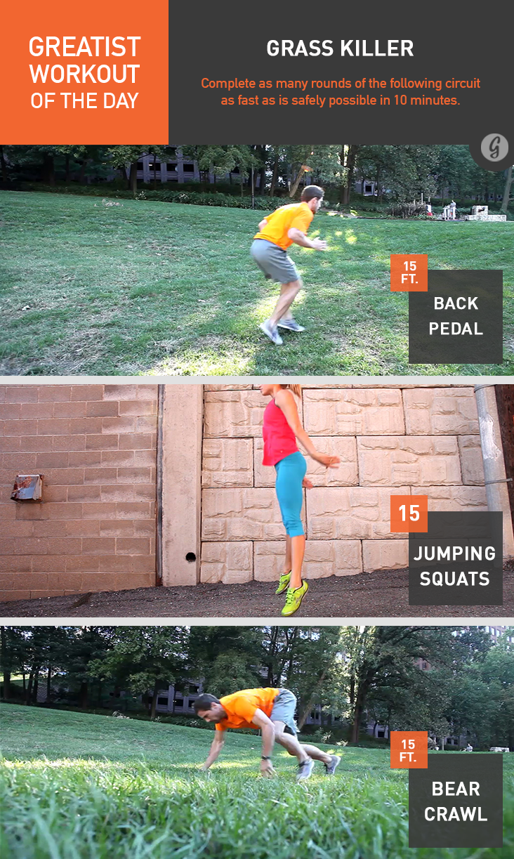 Greatist Workout of the Day: Grass Killer