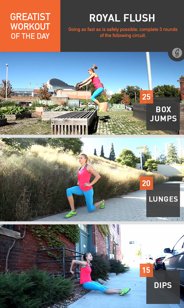foto Greatist Workout of the Day: Monday, August 4th