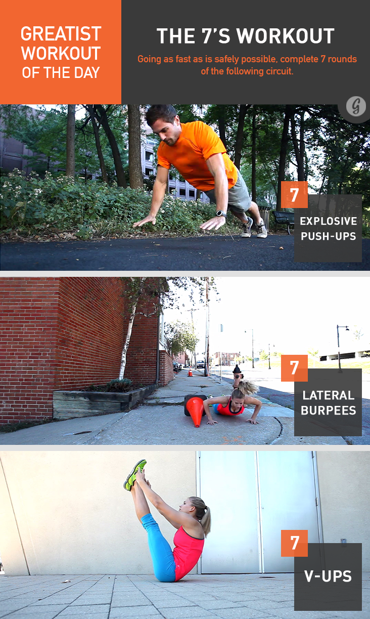Greatist Workout of the Day: The 7's Workout
