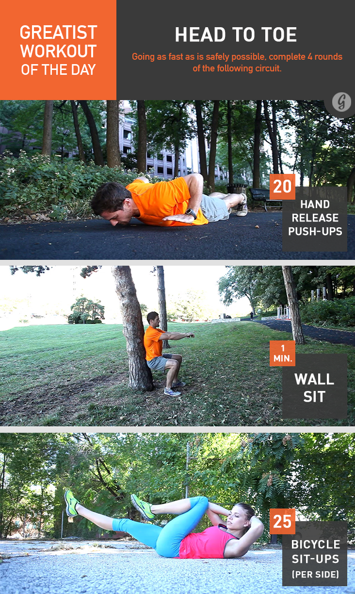 Greatist Workout of the Day: Head to Toe