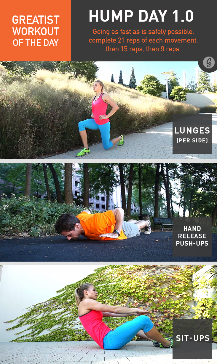 Greatist Workout of the Day: Hump Day 1.0