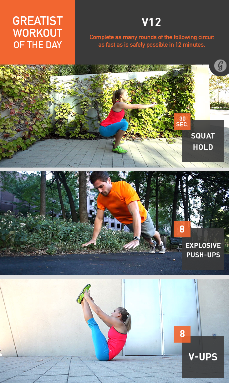 Greatist Workout of the Day: V12