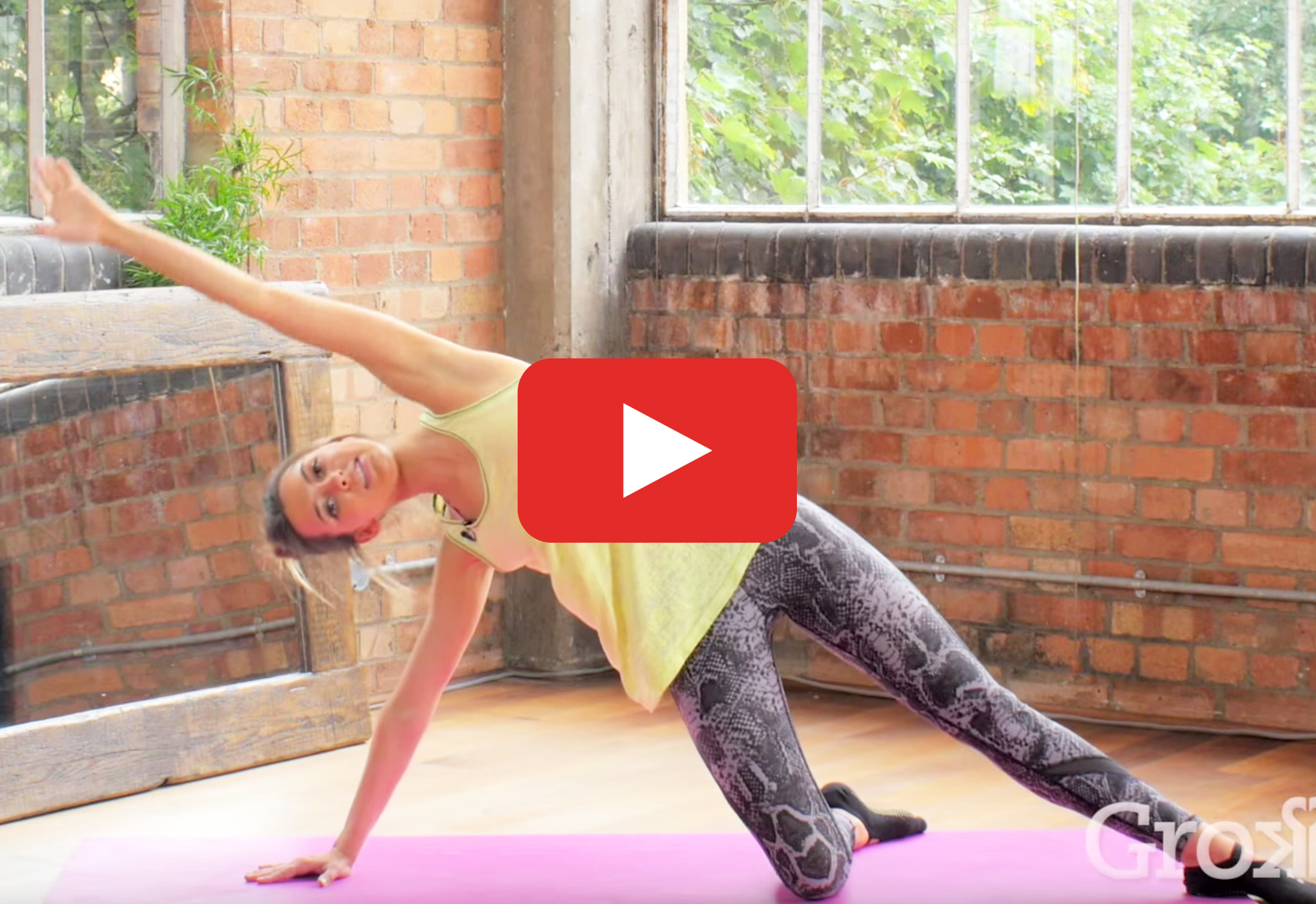 The 20 Minute Barre Meets Pilates Workout