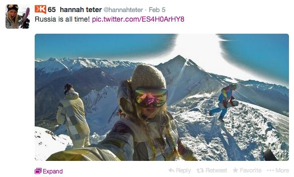 Hannah Teter