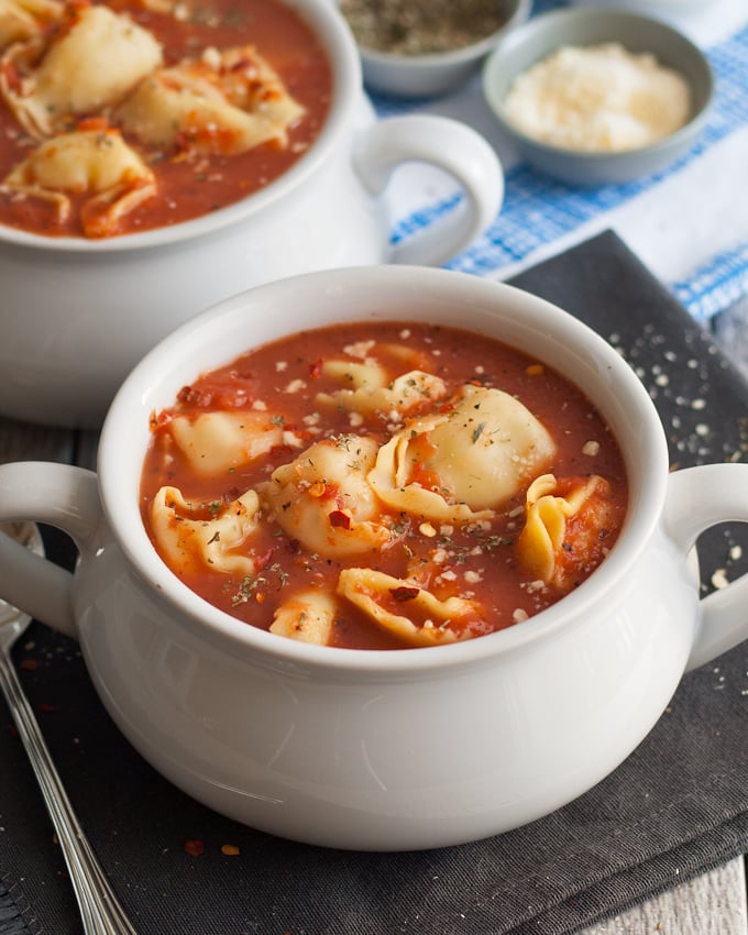 Honey And Birch 3 Ingredient Tomato Tortellini Soup