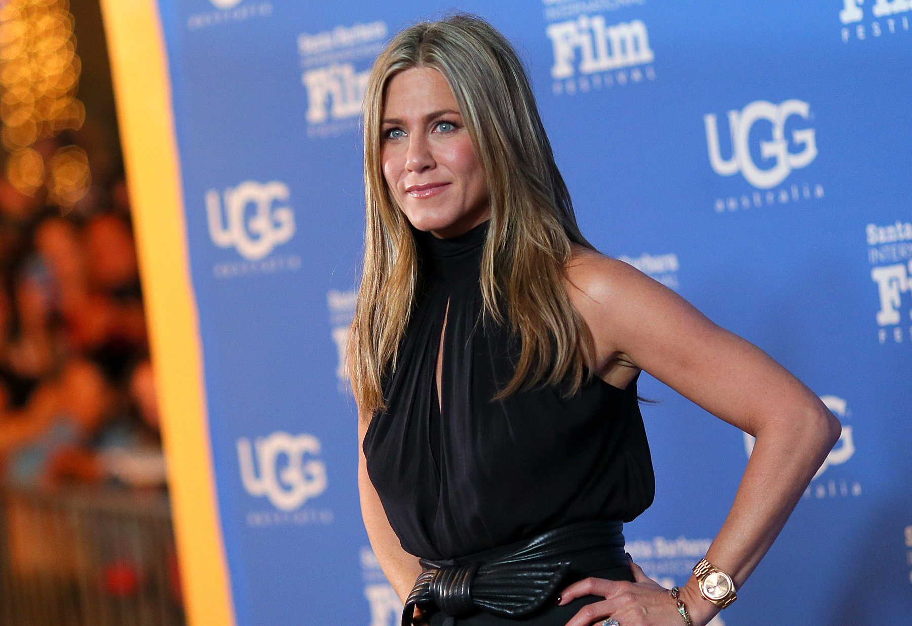 Jennifer aniston lubed up