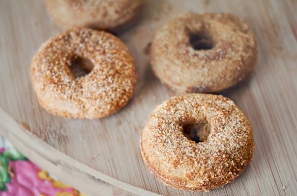 Mini Gluten-Free Vanilla-Cardamom Donut