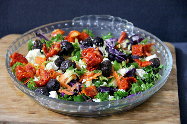 Mixed Vegetable Salad Platter