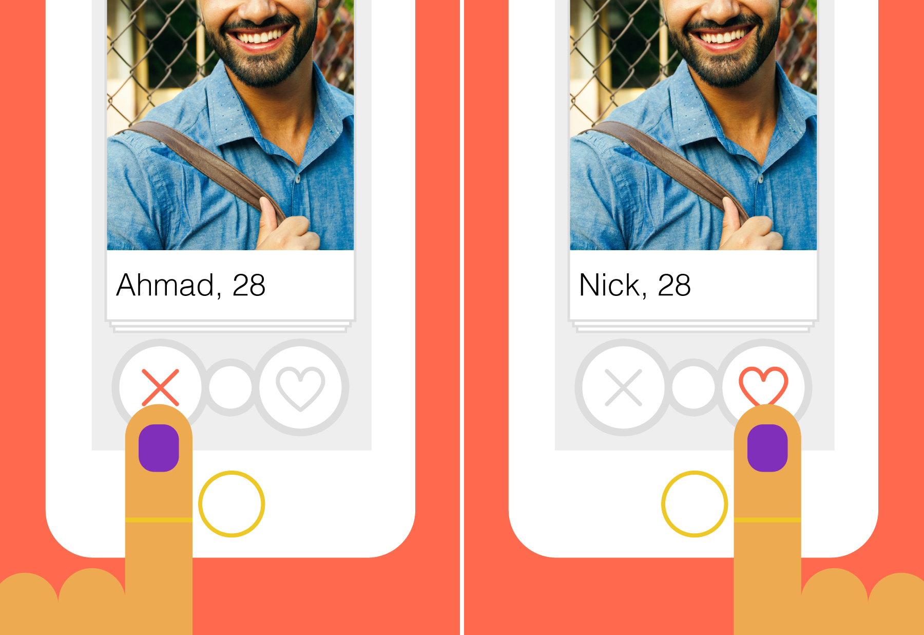 Guy Makes His Name Whiter, Gets More Tinder Matches Because People Are the Worst