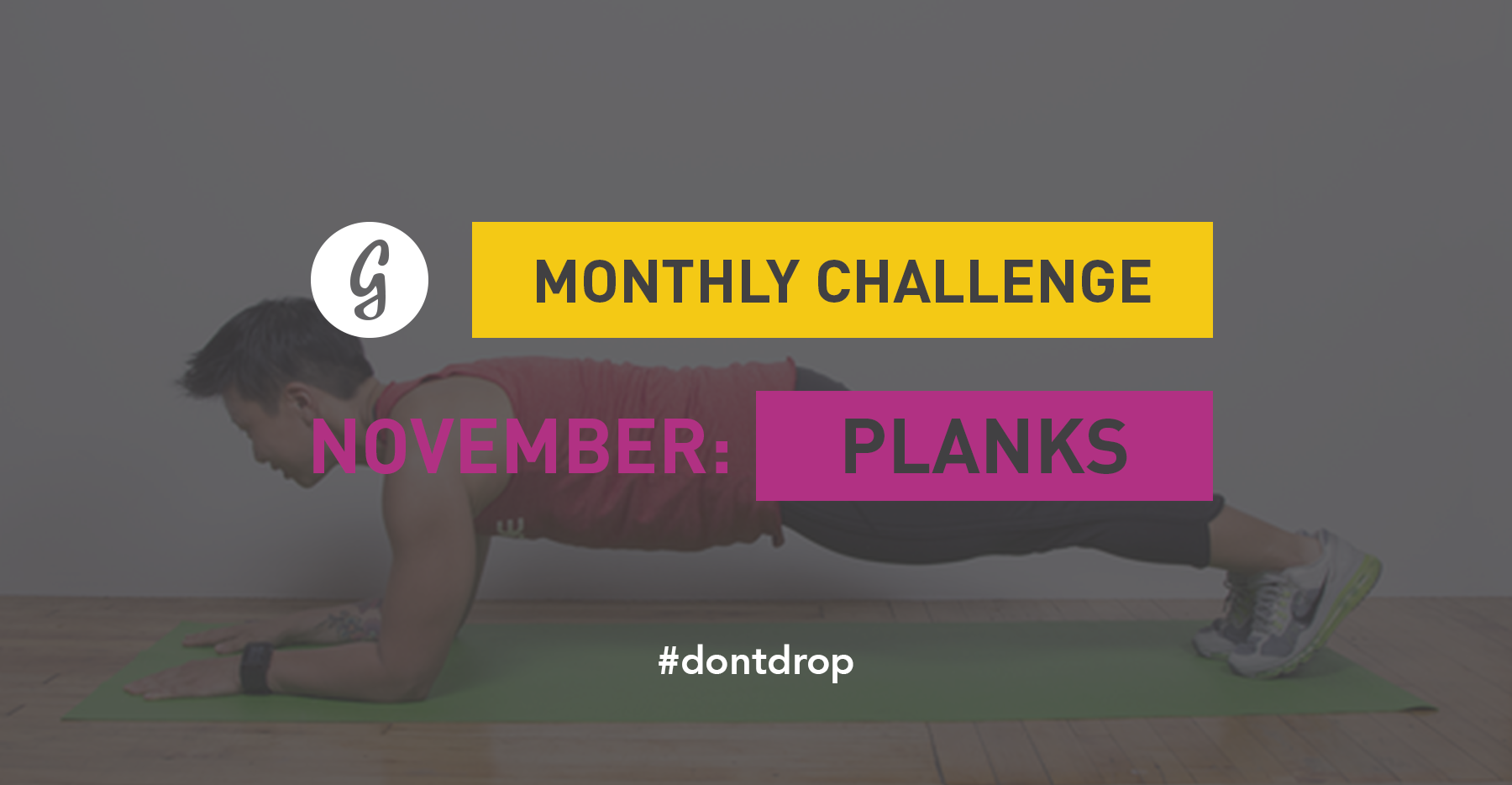 Join Greatists 30-Day Plank Challenge