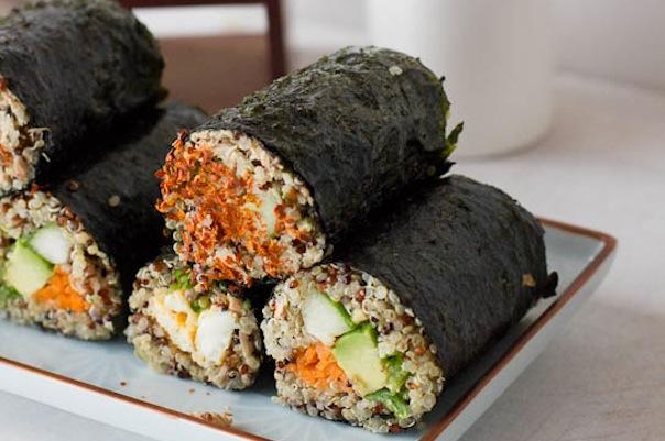 Quinoa Sushi Rolls