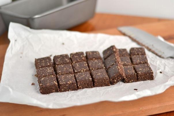Raw Espresso Brownies