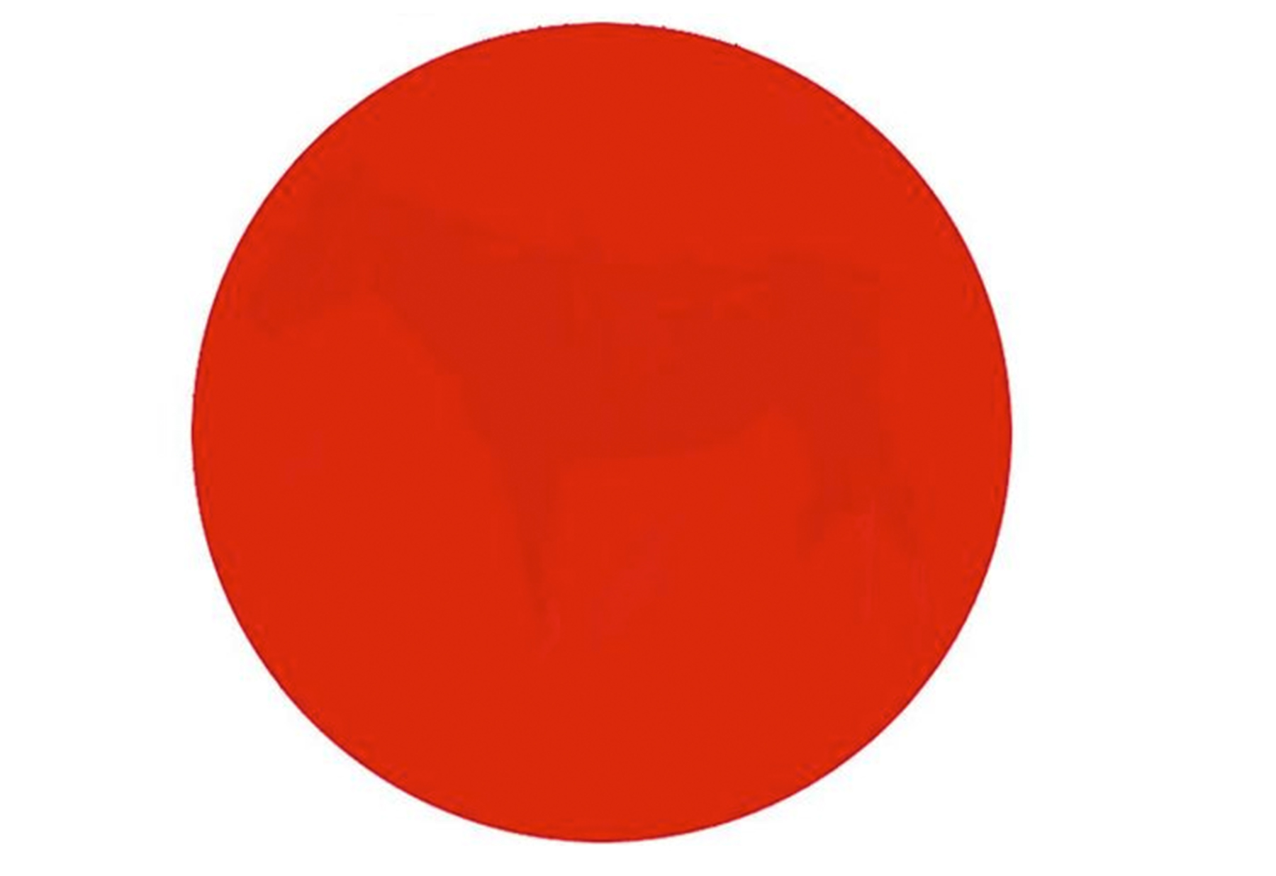 Can you see the hidden image inside this mysterious red dot?