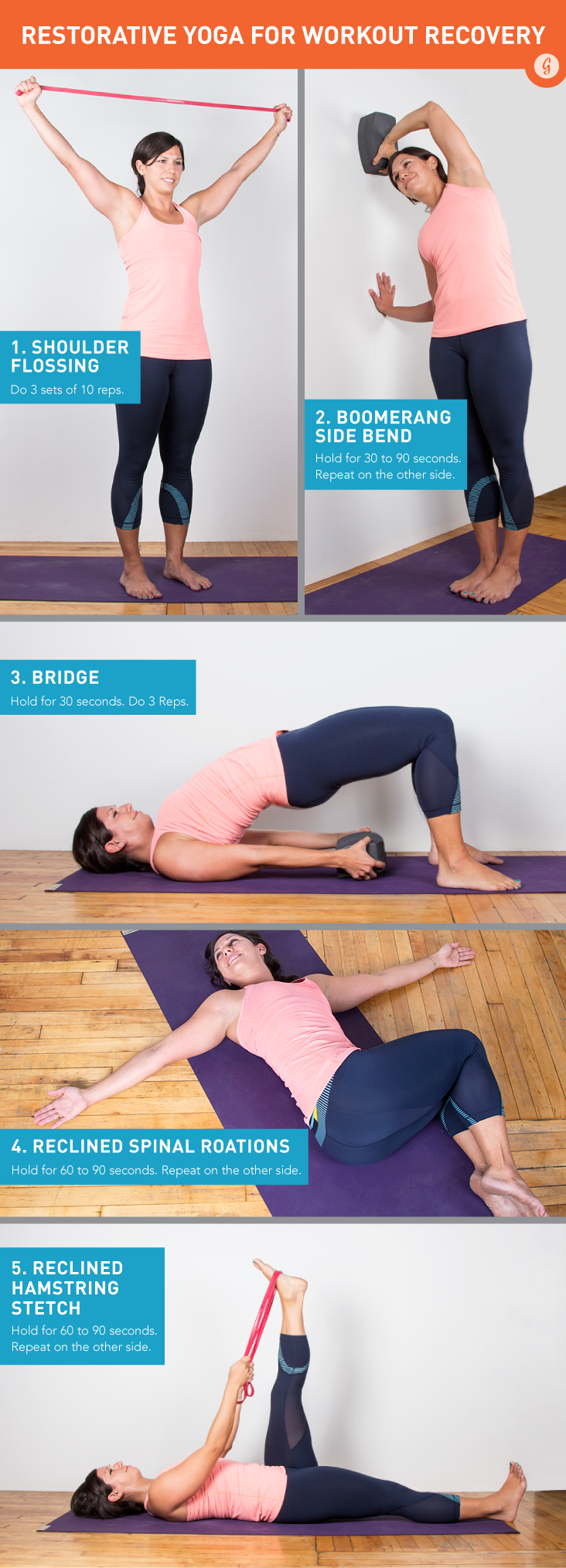 Restorative Yoga for Workout Recovery