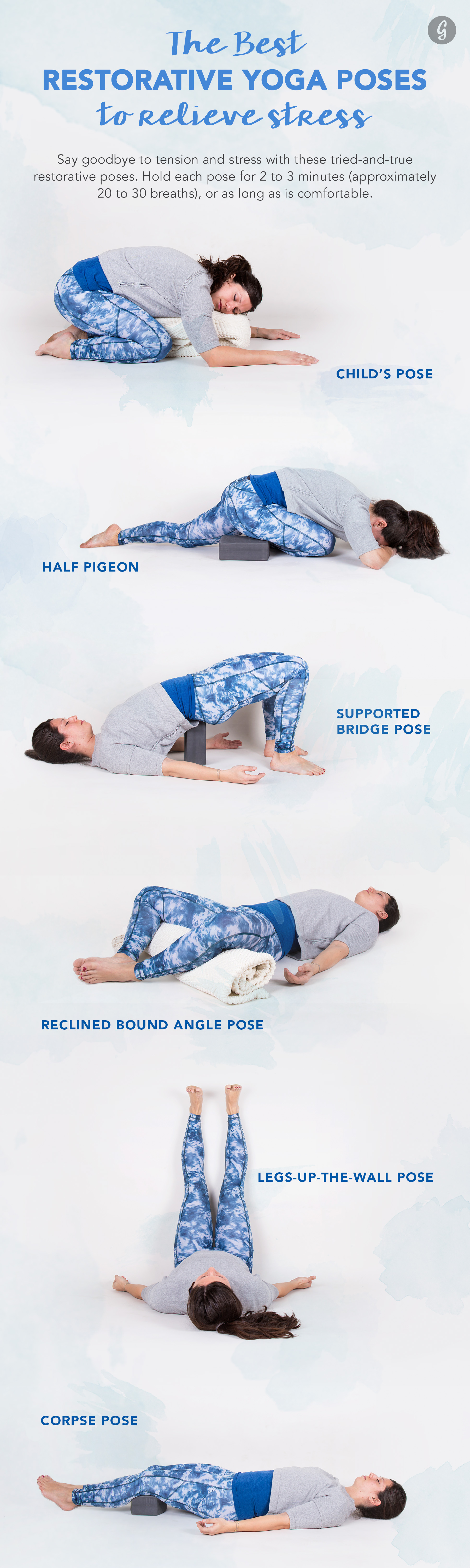 Restorative Yoga: The Best Restorative Yoga Poses to Relieve Stress