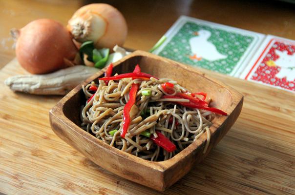 Soba Noodles with Vegetables