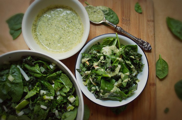 Spinach Kale Salad