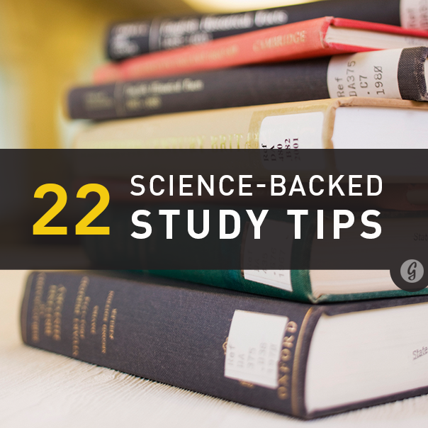 The 9 BEST Scientific Study Tips - YouTube